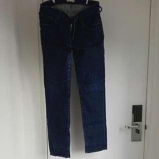 Uniqlo Jeans Pencil Cut