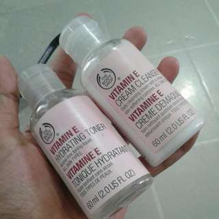 Cream And Toner The Body Shop(take All 40rb)