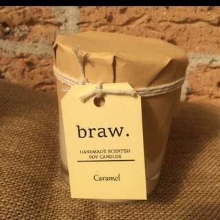 Caramel Handmade Scented Candle