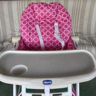 餐椅,chicco摺疊餐椅,兒童餐椅,奇哥(和 含運)