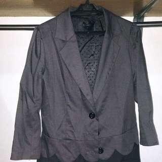 Shiny Black Coat