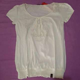 White Countrystyle Blouse
