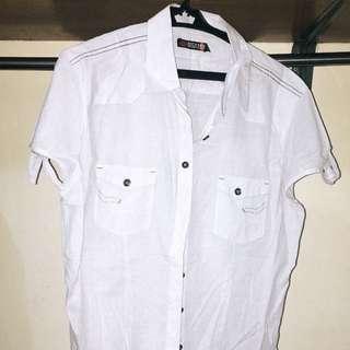 Dickies White Short Sleeve Polo