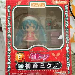Nendoroids Hatsune Miku Santa Ver Christmas Ver Nendo Good Smile Company