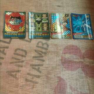 Reserved - Dragonball Cards