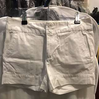 Space White Shorts