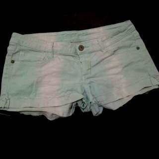 Arizona Faded Teal Shorts