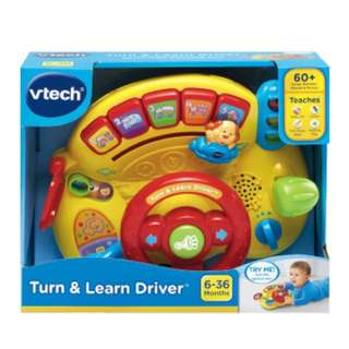 BNIB VTech Turn and Learn Driver