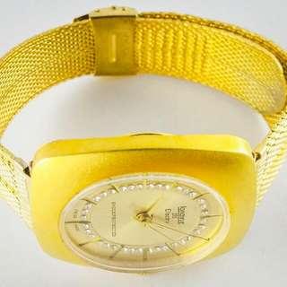 Longine Chancellor Electra Vintage Unisex Manual Wind Mesh Bracelet Swiss Watchrolex omega rado Longines seiko casio tissot