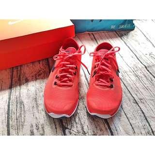 Nike Wmns Flex SupremeTR4橘紅運動女鞋👟