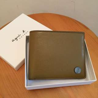 New Leather Agnes B Wallet 真皮銀包
