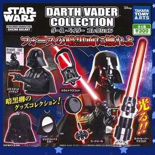 【可愛扭蛋專賣店】T-ARTS星際大戰小物吊飾 全套5個 STAR WAR光劍 扭蛋轉蛋 現貨不用等