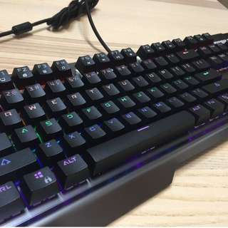青軸黑軸金屬電競鍵盤 Sisun VP700 Hi-End Mechanical-switch Gaming Keyboard  (with MX-Blue or MX-Black)