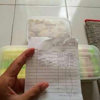 Pancake Duren N Durian Cup
