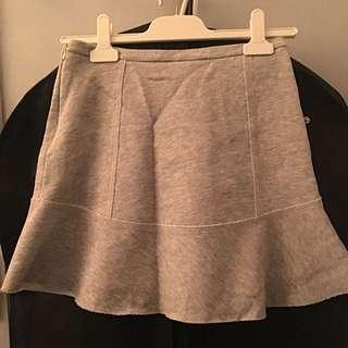 Zara Grey Skirt, Size S