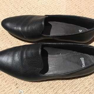 Camper Black Flats/loafers - 40/9