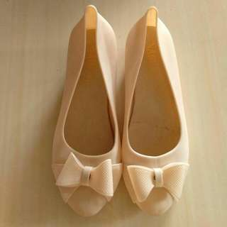 Nory Jelly Shoes Crem 38