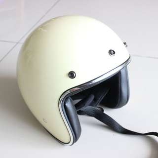 Open Face Low Profile Helmet (Bell  Style)