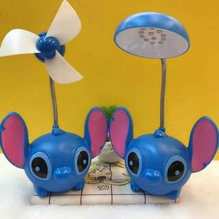 Stitch Lamp And Stitch Fan