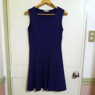 Mossimo Purple Skater Dress