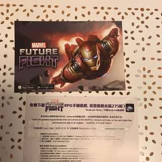Marvel future fight 宣傳品