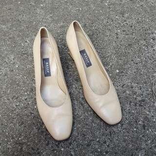 Authentic Bally Heel Flats