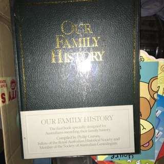 DIY Genealogy - Our Family History Keepsake Journal