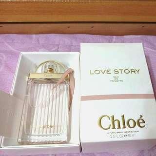 Chloe 克羅埃 Love Story愛情故事女性淡香水 香精75ml