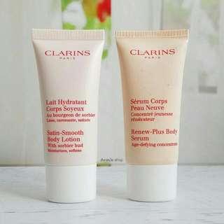 Clarins Satin Smooth Body Lotion 30ml