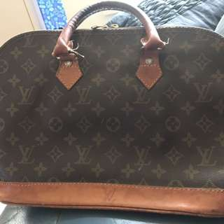 Old Vintage Louis Vuitton Bag