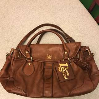 Salad Leather Bag