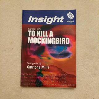To Kill a Mockingbird - Insight text guide