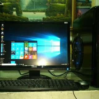 1 Set Computer Desktop PC (Gaming /Streaming)