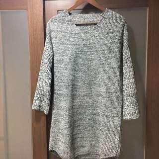 🚚 針織長版毛衣