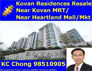 Condo - Near Kovan MRT - Kovan Residences Condominium 4 Bedder for Sales