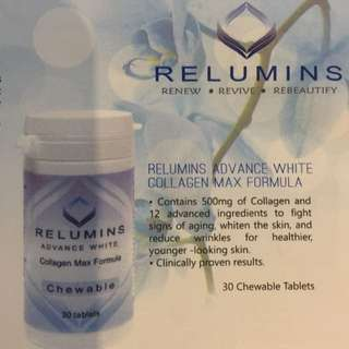 Authentic Relumins Advance White Collagen
