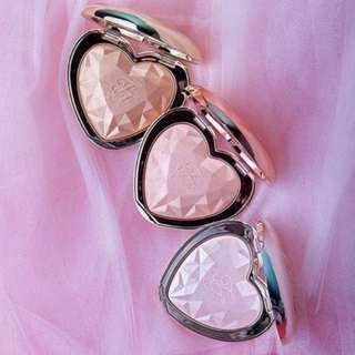 TOO FACED LOVE LIGHT PRISMATIC HIGHLIGHTER - ROSE GOLD / GOLD / CHAMPAGNE BRAND NEW + AUTH $85 EACH