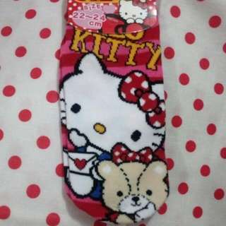 SANRIO Hello kitty sock 襪
