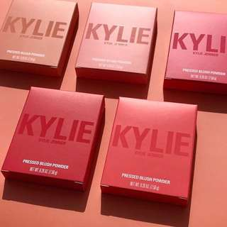 Kylie Blushes