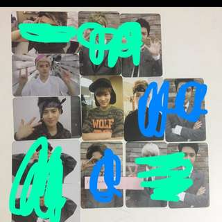 [ WTS ONLY ] EXO OFFICIAL PHOTOCARDS