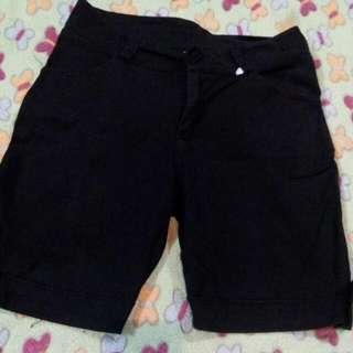 Black Walking Shorts