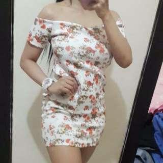 zalora brandnew floraloffshoulder sexy dress