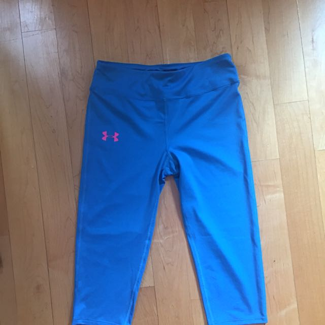 2 Pairs Under Armour Youth Large Fitted Crops