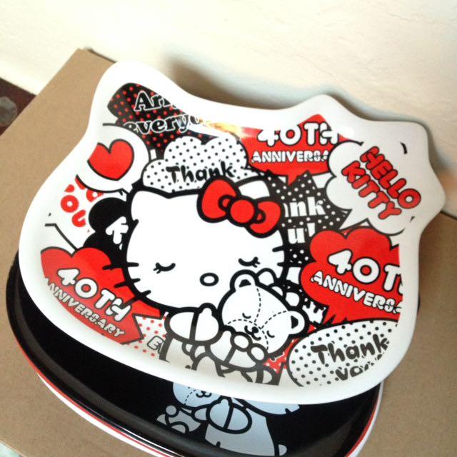 7-11 Hello Kitty 盤子 餐盤