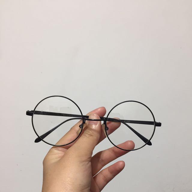 文青圓眼鏡