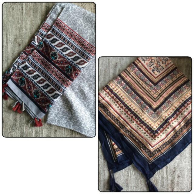 ❗預購❗泰國製 民族風流蘇圍巾