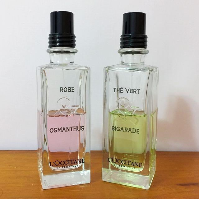 #我有香水要找賣 歐舒丹 格拉斯系列 玫瑰&桂花淡香水