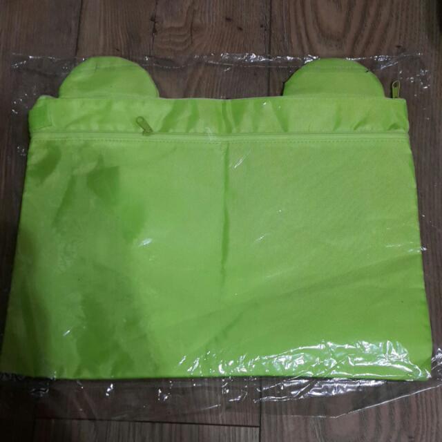 可愛青蛙文件袋 功課袋 A4 Size #MAYSALE