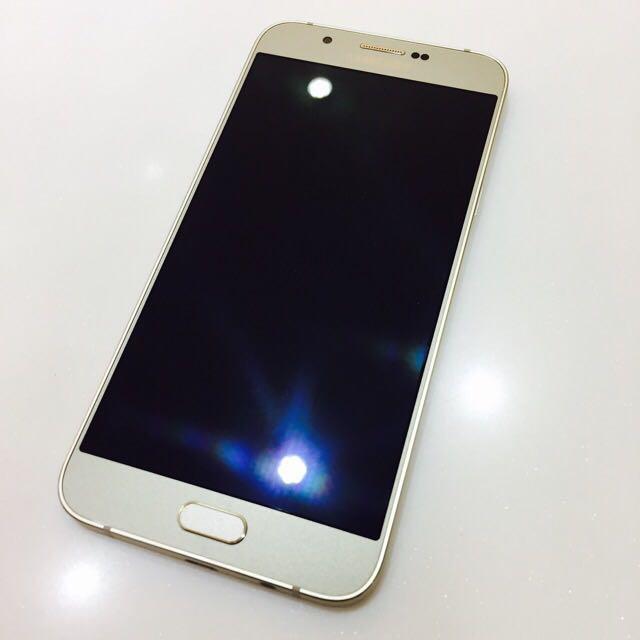 🇰🇷三星 Samsung A8 香檳金 非S7 Nte5