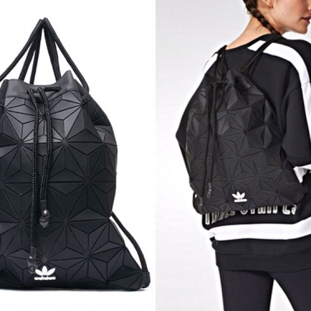 ADIDAS 3D MESH BUCKET GYM SACK BAG, Luxury, Bags & Wallets ...